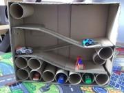 Levný a jednoduchý nápad, jak udělat pro chlapečka garáž