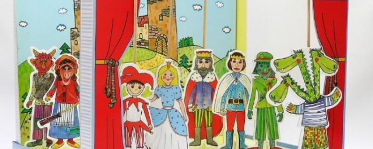 Nechybí vám doma dětské loutkové divadlo? Byla by to škoda!