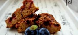 Drobenkový koláč ze špaldové mouky